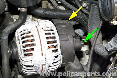 bmw e46 alternator replacement bmw 325i 2001 2005 bmw