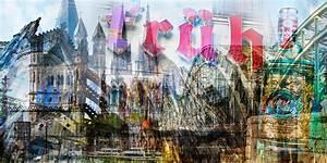 Leinwand Köln Skyline : acrylbilder k ln collage mit k lner dom und stadt highlight als panorama ~ Sanjose-hotels-ca.com Haus und Dekorationen