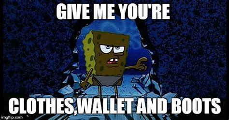 Spongebob Wallet Meme - spongebob wallet meme not even spongebob was safe from the sales by gardevoid image all in one