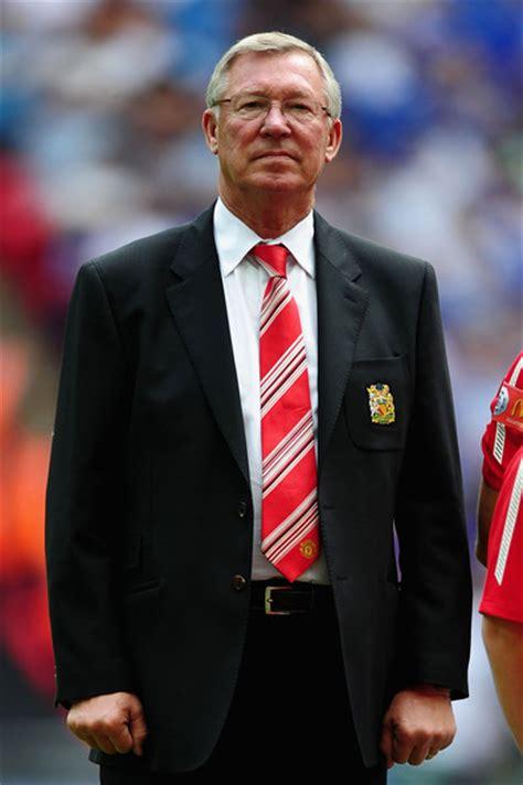 Alex Ferguson In Chelsea V Manchester United Fa