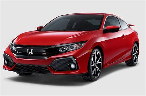 honda civic 2017 coupe 2017 honda civic si coupe front three quarter 1 motor trend