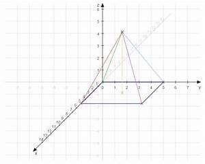 Fehlende Koordinaten Berechnen Vektoren : schr gbild schr gbild einer quadratischen pyramide mit a ~ Themetempest.com Abrechnung