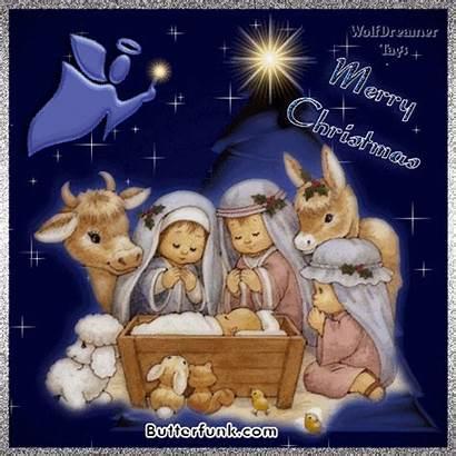 Jesus Christmas Fanpop Merry Animated Born Scene