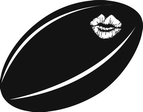 cartoon rugby ball   clip art  clip