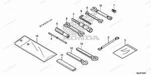 Honda Motorcycle 2015 Oem Parts Diagram For Tool