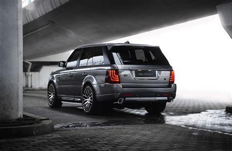 Black Land Rover Wallpaper by Glohh Land Rover Range Rover Sport Black Suv Wallpaper