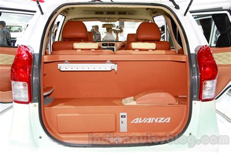 toyota avanza special edition boot at the 2014