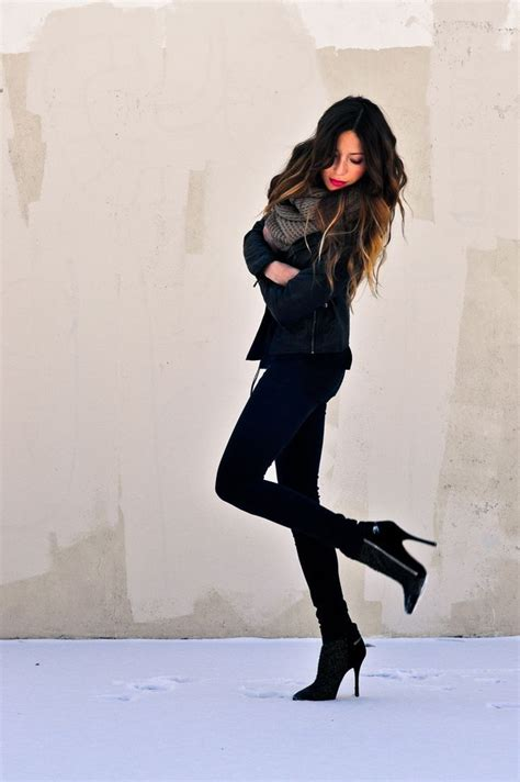 Winter Outfits With Black Boots | www.imgkid.com - The Image Kid Has It!