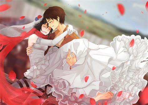 Anime Wedding Wallpaper - dress tears anime wedding shingeki no kyojin