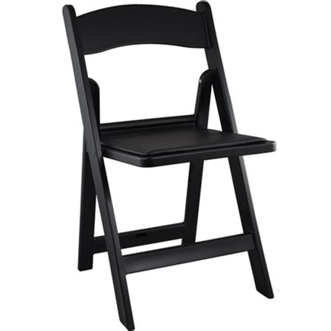 black resin folding wedding chair padded folding chairs