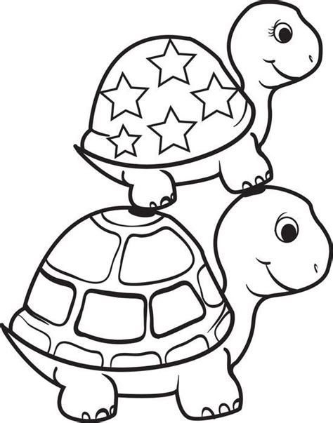turtle  top   turtle coloring page crafts turtle