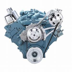 Pontiac Serpentine Pulley Conversion Kit Alternator 350