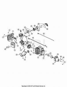 Mtd Bl110 41ad110g965  41ad110g965 Bl110 Parts Diagram For Engine Assembly