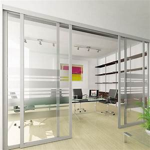 sliding, office, doors, and, panels, features, aluminum, frame, af009, and, clear, glass, with, custom, etched