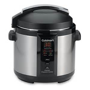 cuisinart 174 6 quart electric pressure cooker bed bath beyond