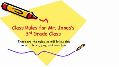 Rules Classroom Elementary Presentation Templates Powerpoint Office