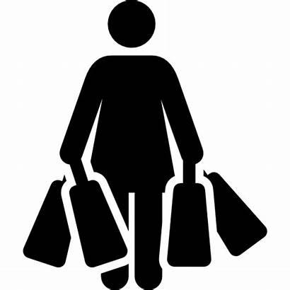 Shopping Bags Icon Christmas Humanpictos Xmas