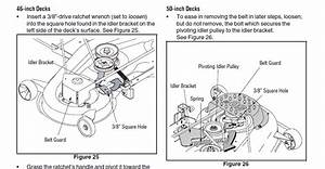 Cub Cadet Lt1045 Mower Deck Diagram