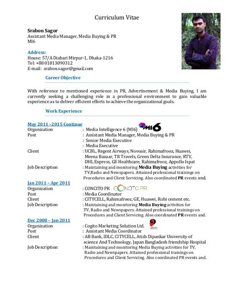 Media Buyers Resume by Media Buyer Responsibilities Resume