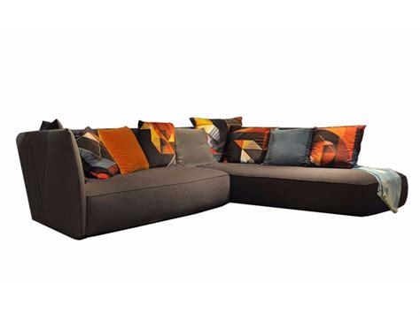 Divano Roche Bobois - divano angolare in tessuto grapher by roche bobois design