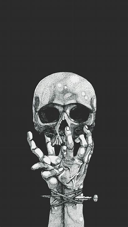 Skull Wallpapers Dark Dope Aesthetic Skeleton Backgrounds