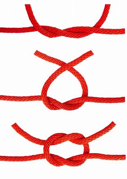 Knots Knot Tie Square Easy Survival Useful