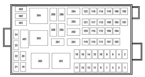 ford windstar  fuse box diagram auto genius