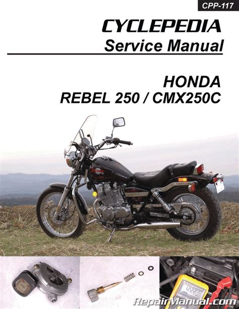 Honda Cmxc Rebel Cyclepedia Printed Motorcycle
