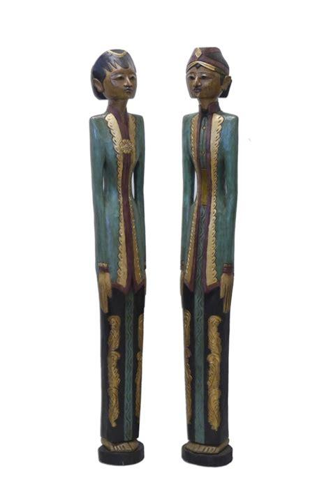Figuren Aus Holz by Figuren Statuen Skulptur Aus Holz Als Paar 2216 Ebay