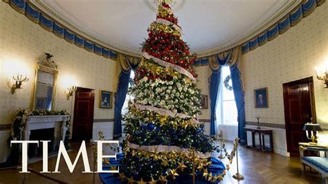 lady melania trump receives   white house