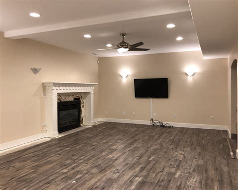 designing  enormous basement family room