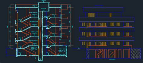 Apartments 2D DWG Design Plan for AutoCAD ? Designs CAD