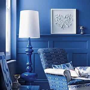 Deep Blue Living Room Picsdecor com