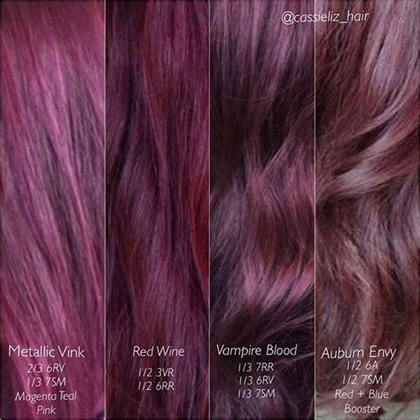 violet hair color formulas best 25 violet hair color ideas on plum