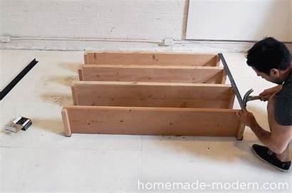 Bookcase Homemade Modern Step Diy Iron Ep36