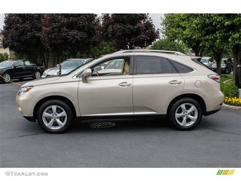 lexus satin cashmere metallic satin cashmere metallic 2012 lexus rx 350 exterior photo