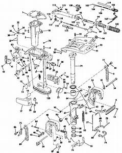 Johnson Midsection Parts For 1988 25hp D25rwa Outboard Motor