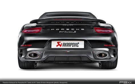 """Akrapovič Takes Porsche's """"benchmark"""" To New Level"""