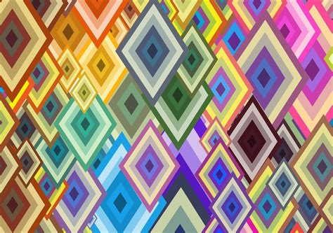 Abstract Geometric Shapes Pattern by Geometric Shapes Vector Background Vector Graphics