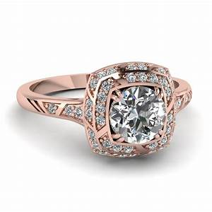 the gallery for gt white and rose gold diamond engagement With wedding rings with rose gold and white gold