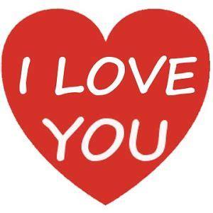 love  heart happy valentines day sticker
