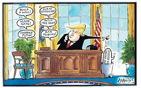 cartoons  donald trumps  month