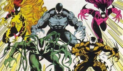 venom symbiotes explained  riot  hybrid collider