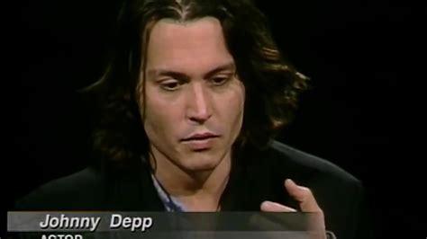 Johnny Depp Job Interview Charlie Rose Jon Bon