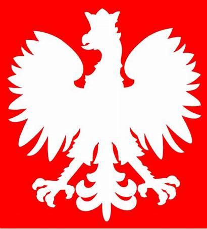 Polish Eagle Clip Flag Poland Clipart Svg