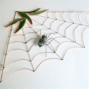 Stained Glass Corner Spider Web - Creepbay
