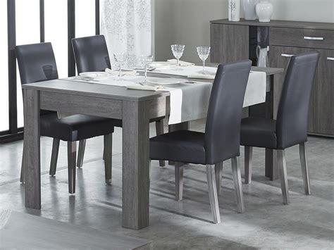 chaise pour salle à manger chaise de salle à manger en polyuréthane et bois lot de 2