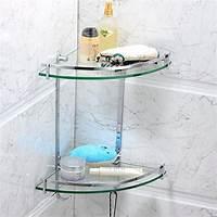 glass corner shelves Top 20+ Floating Glass Shelves for Interiors