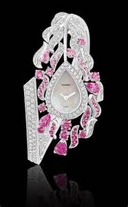 Pink Chanel Diamond Watch