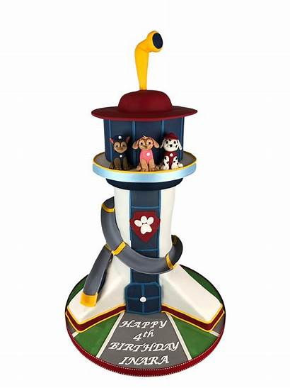 Paw Patrol Tower Cake 3d